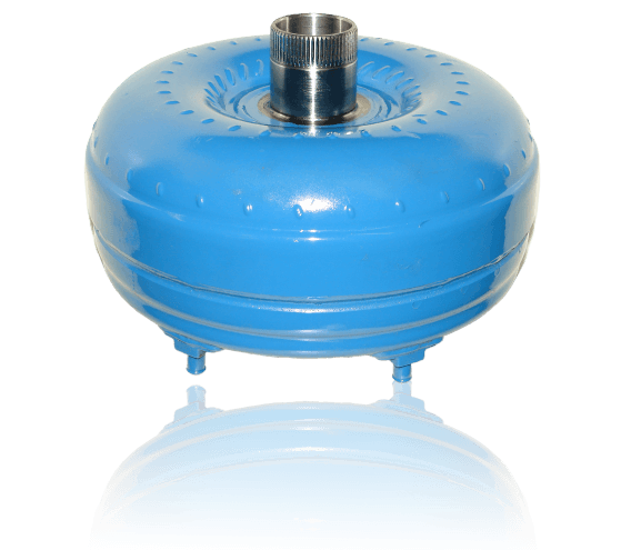 A picture of a blue Precision of New Hampton torque converter